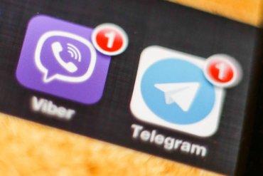 telegram and viber
